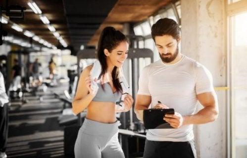 Lav en liste med mål til din træningsrutine