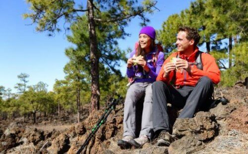 Bjergbestigere bør spise godt
