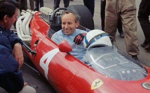 Surtees har kørt for Ferrari