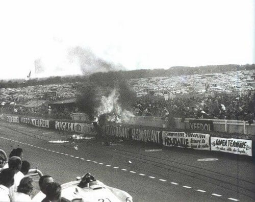 Ulykken ved Le Mans i 1955