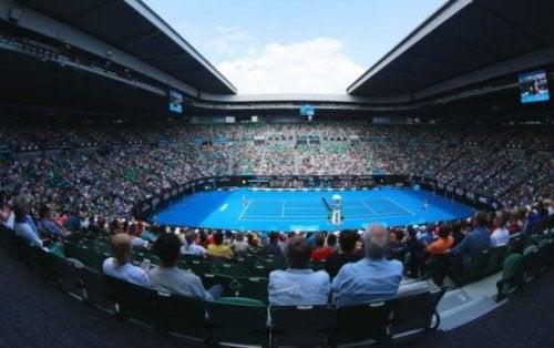 Analyse af tennisturneringen, Australian Open