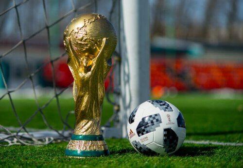 Fodboldlandshold med flest sejre i verdensmesterskabet