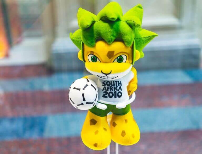 en af de maskotter fra FIFA verdensmesterskab