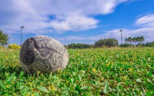 gammel fodbold