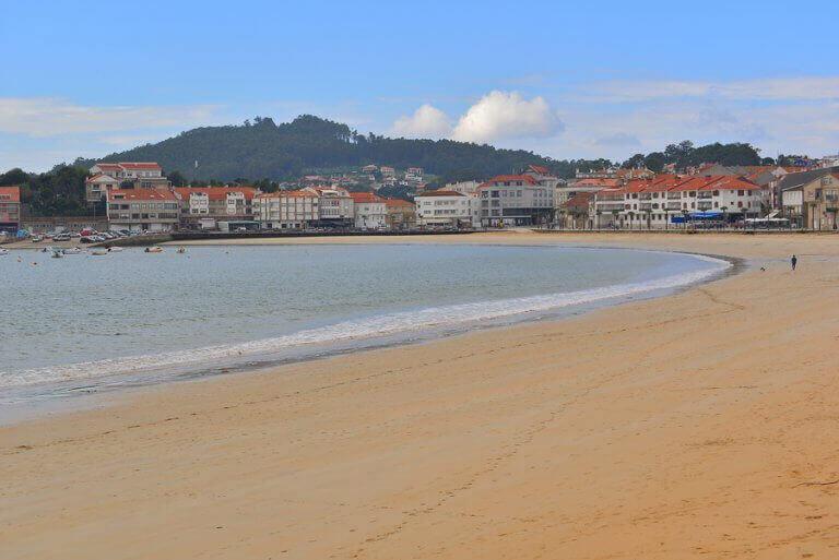 playa america galicia