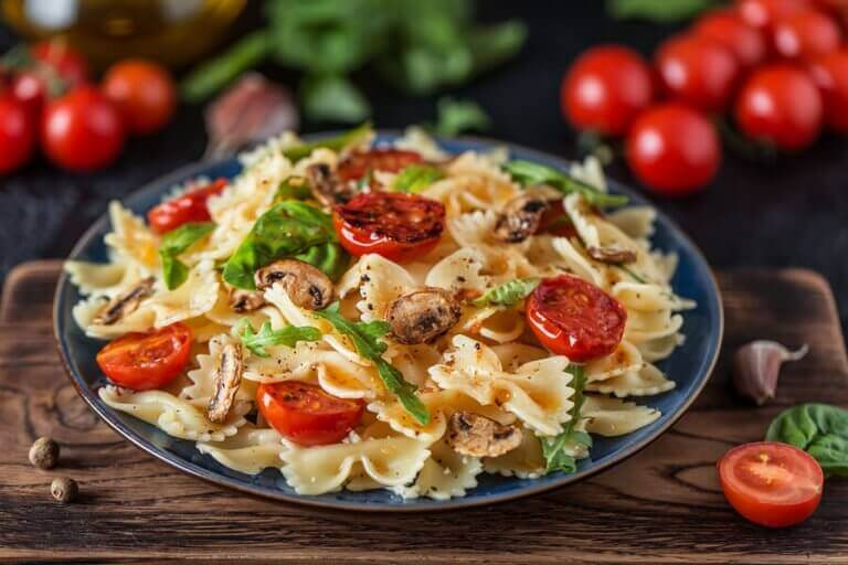 ret med pasta