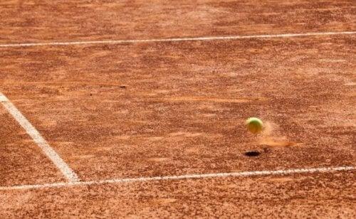 tennis på grus