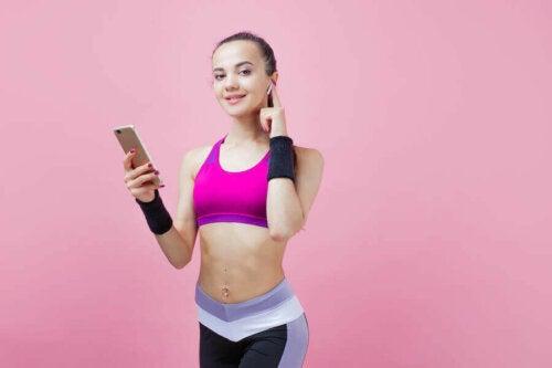 6 apps til at træne derhjemme