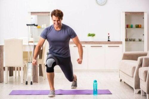 Træning igen efter en skade