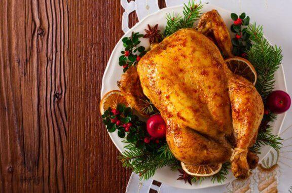 tilberedt hel kylling