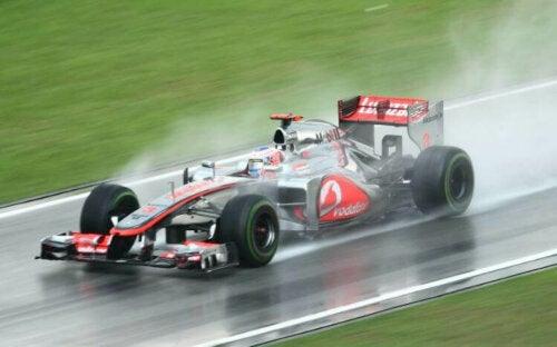 De bedste Formel 1 løb i regn