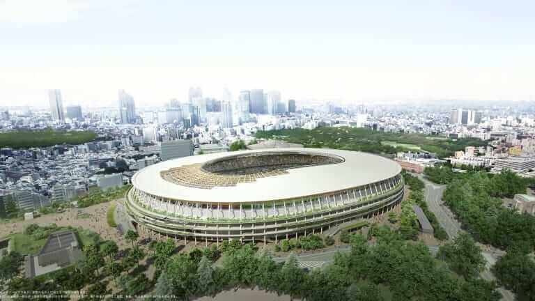 Olympisk stadion i Tokyo