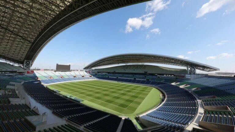 Saitama Stadium som et af de utrolige fodboldstadioner til de Olympiske Lege i Tokyo 2020