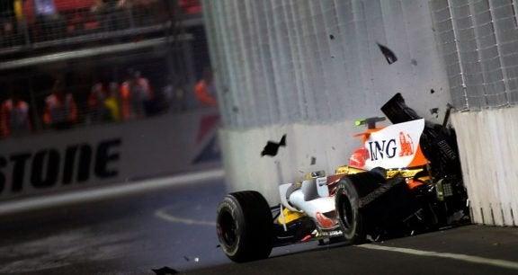 De mest surrealistiske ulykker i Formel 1