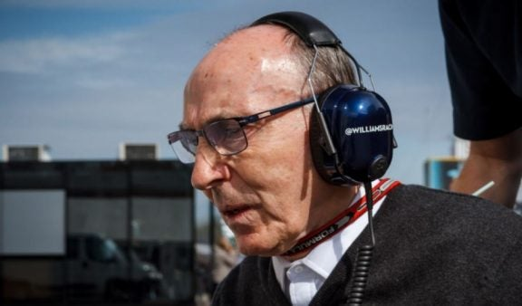 Frank Williams, et liv dedikeret til Formel 1
