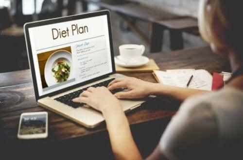 At være på diæt bidrager med fordele i dit liv