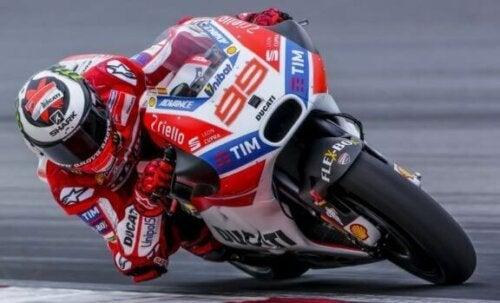 Jorge Lorenzo og hans værste periode i MotoGP