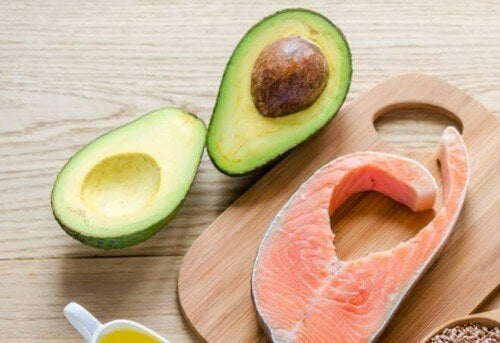Avocado og laks er sundt for kroppen