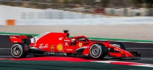 kører for Ferrari