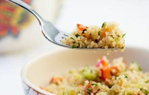 ret med quinoa