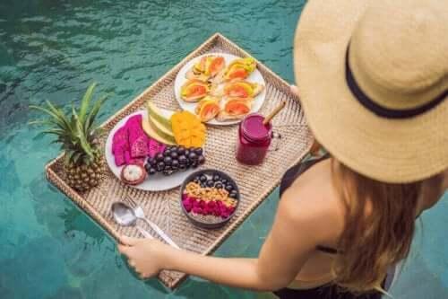 De bedste frugter at spise om sommeren