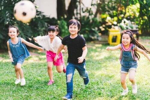 Fordele ved fysisk aktivitet for børn