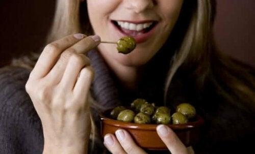Fordelene ved oliven er ideelle for atleter