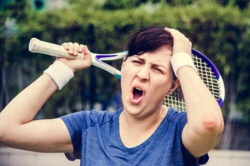 Håndtering af negative følelser, når man dyrker sport