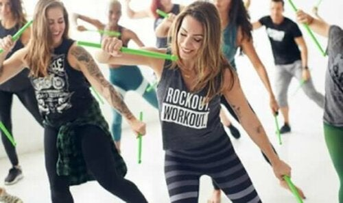 hold der laver POUND fitness
