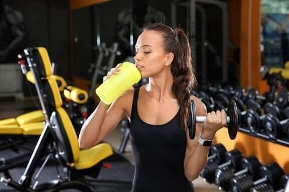 God kost og masser af protein er vigtig for atleter