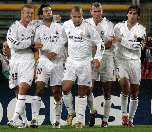 fodboldspillere fra Real Madrid