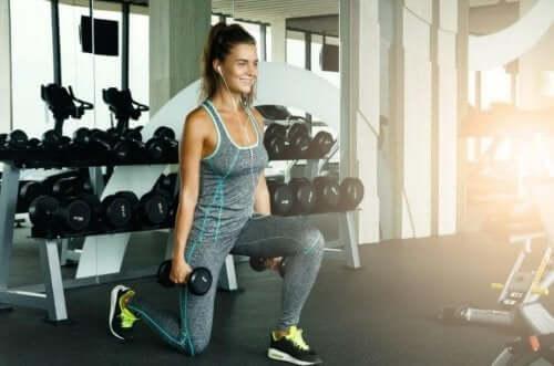 kvinde i fitness