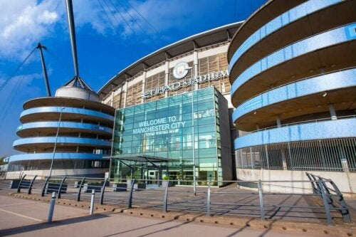 stadion i Manchester