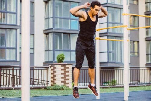 Calisthenics-øvelser med din egen kropsvægt