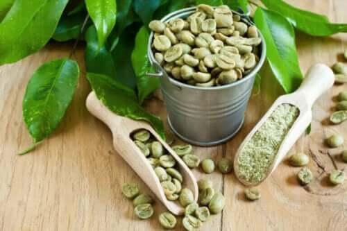 Grøn kaffe og dets slankende egenskaber