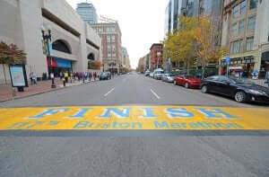 et af de bedste marathon i Boston
