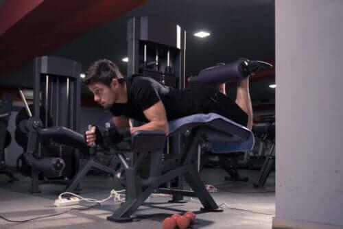 Opdag hvordan du træner de bagerste lårmuskler