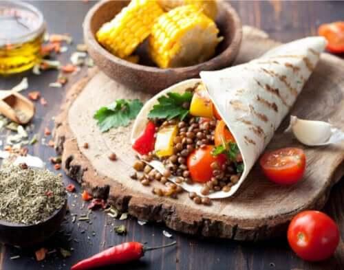 Hvad du kan spise, hvis du er en vegansk atlet