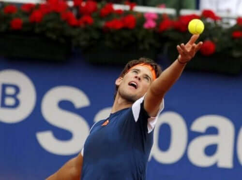 Dominic Thiem: Ungt talent med en lys fremtid