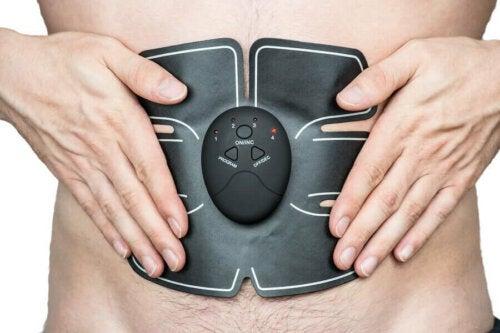 elektrisk stimulering af mavemuskler