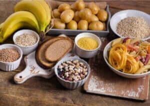 forskellige typer af kulhydrat