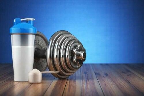 supplement og håndvægt