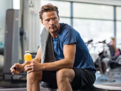 Det er sådan, din krop forbrænder energi efter træning