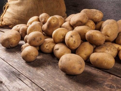 bunke af kartofler
