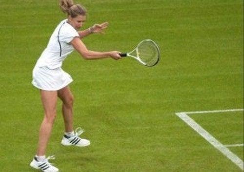 Graf på tennisbanen