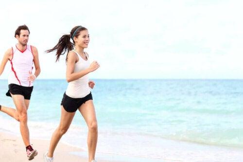 Fordele ved at løbe på stranden