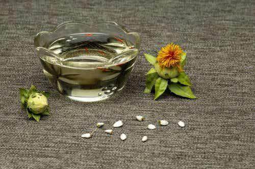 Næringsinformation om saflorolie