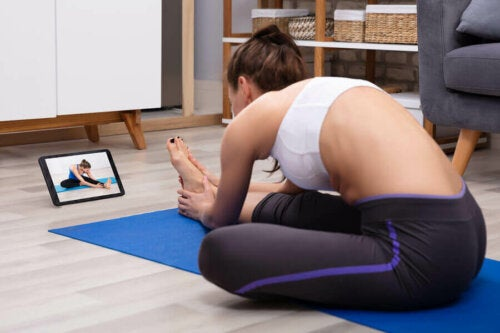 Udstræk til at forbedre din fleksibilitet i lårene