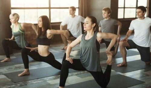 yoga som træning til at bekæmpe stress