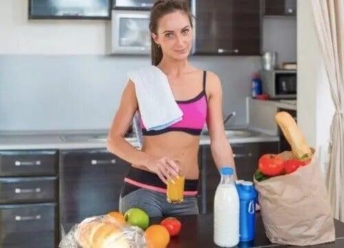 Kostplan til at møde dine fitnessmål